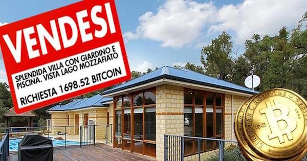 comprare casa in bitcoin